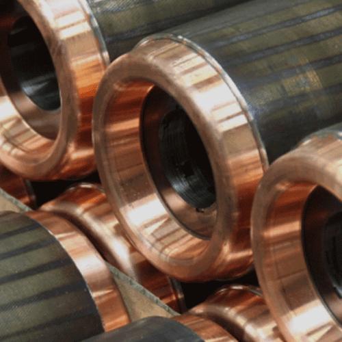 Copper rotors for industrial motors - Favi