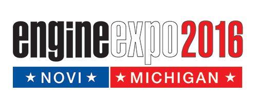 Salon Engine Expo à Novi (USA, MI) du 25 au 27 octobre 2016