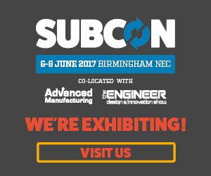SUBCON show in Birmingham from 6 to 8 June 2017