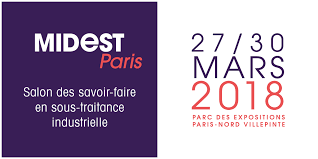 Salon MIDEST à Paris du 27 au 30 Mars 2018