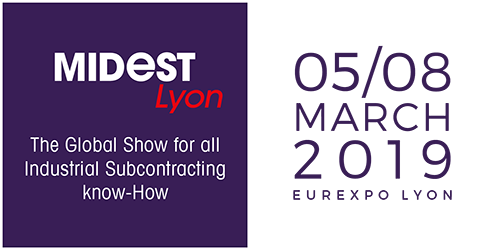 MIDEST fair from March 5 to 8 2019, Lyon